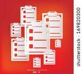 clinical report medical data...   Shutterstock .eps vector #169820300