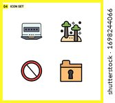 editable vector line pack of 4...