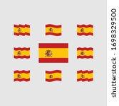flag of spain vector set   Shutterstock .eps vector #1698329500