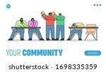 concept education. website... | Shutterstock .eps vector #1698335359