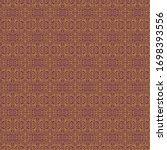 ornate traditional seamless...   Shutterstock . vector #1698393556