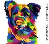Pet Dog Pop Art Illustration