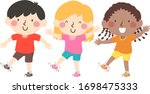 Illustration Of Kids Shaking...