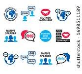 international mother language... | Shutterstock .eps vector #1698511189
