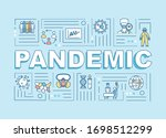 pandemic word concepts banner....