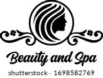 beauty and spa logo    beauty... | Shutterstock .eps vector #1698582769