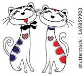 cute cat | Shutterstock .eps vector #169859903