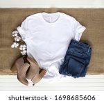 White Shirt Mockup   Tshirt...