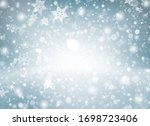 Blue Gray Abstract Background...