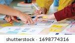 brainstorm planing creative...