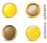 coins | Shutterstock .eps vector #169878959
