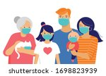 family  mother  father  baby... | Shutterstock .eps vector #1698823939