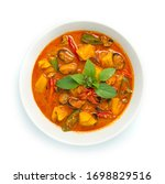 Pineapple Curry With Mussels...