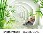 3d Wallpaper  Tunnel With Water ...