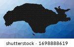 samos geometric map. stencil...   Shutterstock .eps vector #1698888619