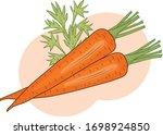 vector isolated illustration of ... | Shutterstock .eps vector #1698924850