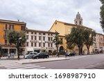 verona  italy  september 26 ... | Shutterstock . vector #1698987910