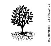 Mangrove Tree Icon  Black And...