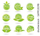 ecology icon set. eco icons   Shutterstock .eps vector #169913198
