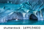 The Marble Caves (Spanish: Cuevas de Marmol ) are a series of sculpted caves in the General Carrera Lake on the border of Chile and Argentina, Patagonia, South America.