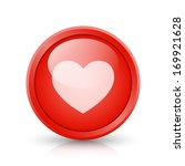 red button  web element  with... | Shutterstock . vector #169921628