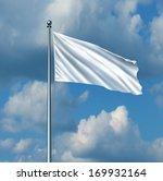 white flag surrender symbol as... | Shutterstock . vector #169932164