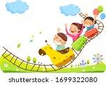 Happy Children's Day Concept....