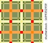 tartan fabric texture. seamless ... | Shutterstock .eps vector #1699352959