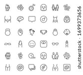 people line icon. vector symbol ... | Shutterstock .eps vector #1699373656