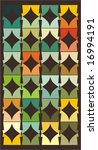 retro pattern background  vector | Shutterstock .eps vector #16994191