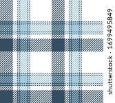 plaid pattern seamless vector...   Shutterstock .eps vector #1699495849