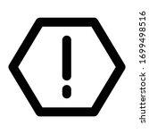 ui line icon attention symbol