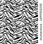 seamless zebra pattern  animal... | Shutterstock .eps vector #1699503250