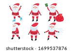 Santa Claus Characters With...