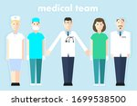 medical professional team in... | Shutterstock .eps vector #1699538500