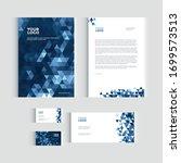 brochure  flyer or report for...   Shutterstock .eps vector #1699573513