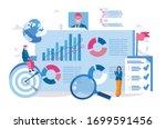 business intelligence  report ... | Shutterstock .eps vector #1699591456