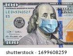 Benjamin Franklin In A Mask On...