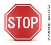 traffic sign stop | Shutterstock . vector #169965728