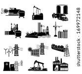 industrial energy  electricity  ... | Shutterstock .eps vector #169972148