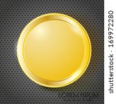 gold coin on the background | Shutterstock .eps vector #169972280