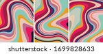 retro colorful psychedelic...   Shutterstock .eps vector #1699828633