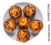 Muffins With Chocolate Chips On ...