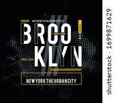 brooklyn graphic element... | Shutterstock .eps vector #1699871629