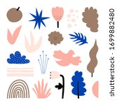 a large set of hand drawn... | Shutterstock .eps vector #1699882480