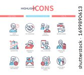 coronavirus protective measures ...   Shutterstock .eps vector #1699890613