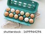 Dozen Of Free Range Chicken Eggs