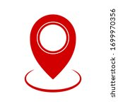 pin map place location icon  ... | Shutterstock .eps vector #1699970356