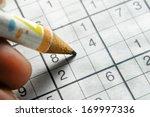 sudoku | Shutterstock . vector #169997336