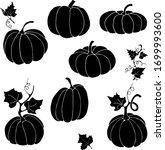 pumpkin will help create a mood ... | Shutterstock .eps vector #1699993600